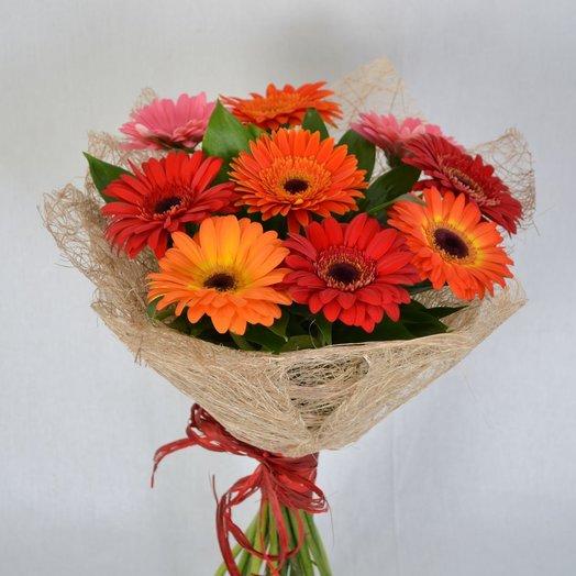 9 гербер: букеты цветов на заказ Flowwow