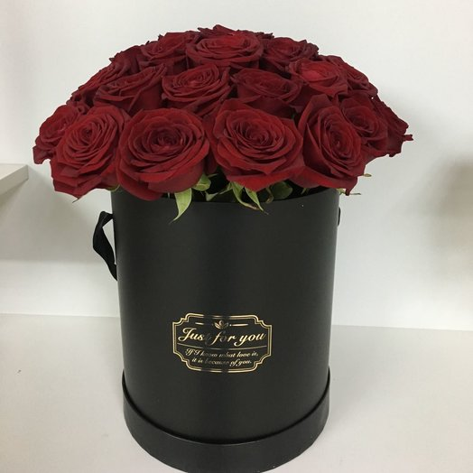 """Cylinder """"passion"""": flowers to order Flowwow"""