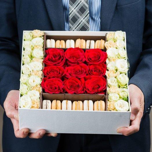 Классическое сочетание: букеты цветов на заказ Flowwow