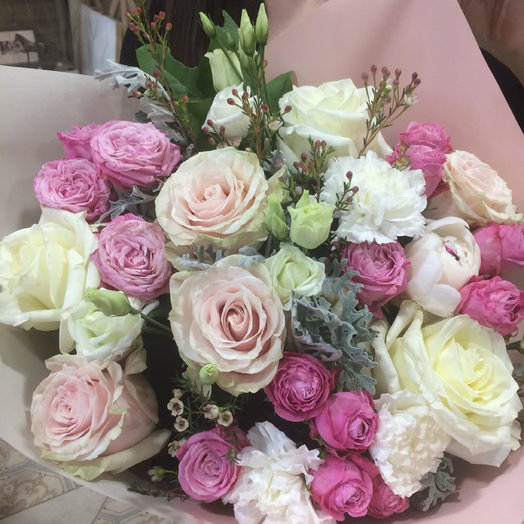 Букет Нежность: букеты цветов на заказ Flowwow