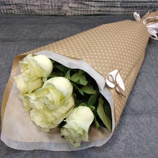 9 ароматных роз: букеты цветов на заказ Flowwow