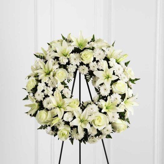 Funeral Crown: flowers to order Flowwow
