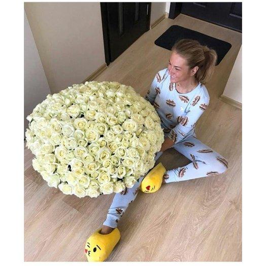 Белое море : букеты цветов на заказ Flowwow