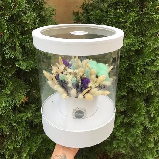 Букет из сухоцветов интерьерный
