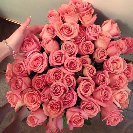 """""""Нежно розовое"""": букеты цветов на заказ Flowwow"""