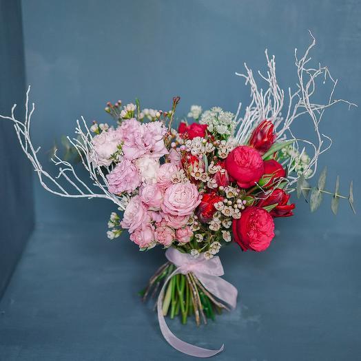 """Букет невесты """"Омбре"""": букеты цветов на заказ Flowwow"""