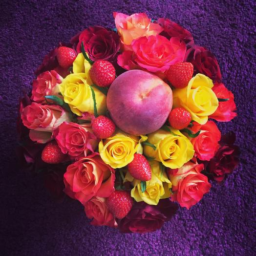 Fruity bouquet favorite: flowers to order Flowwow