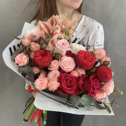 Садовая роскошь: букеты цветов на заказ Flowwow