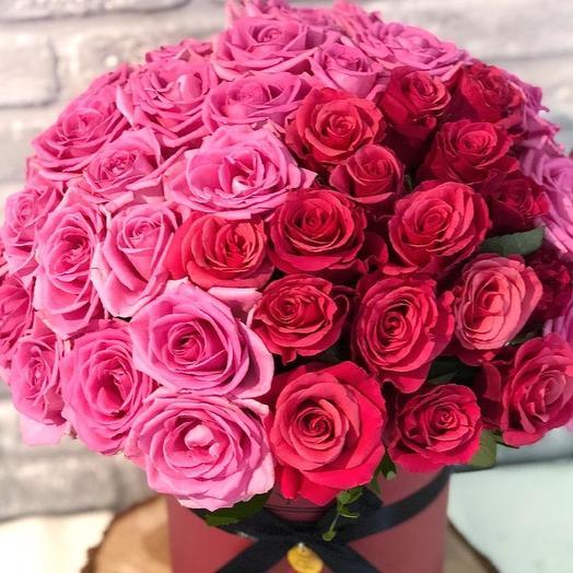 Розовая вата: букеты цветов на заказ Flowwow