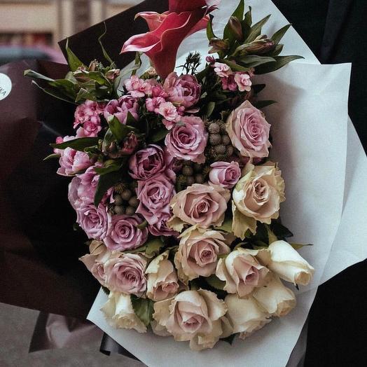 Букет цветов 82: букеты цветов на заказ Flowwow