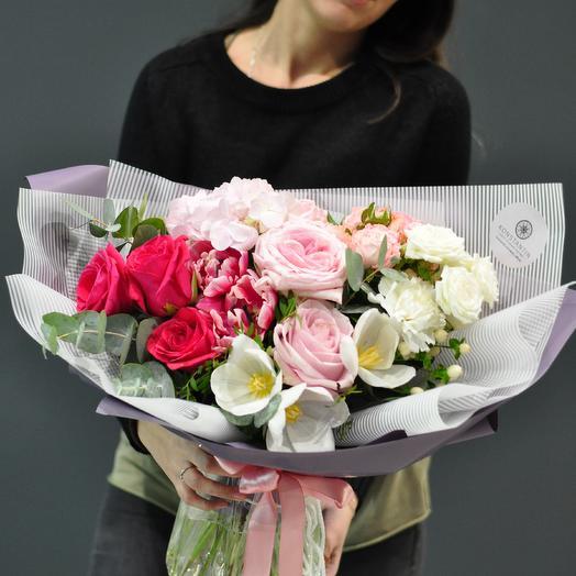 Утренний бриз: букеты цветов на заказ Flowwow