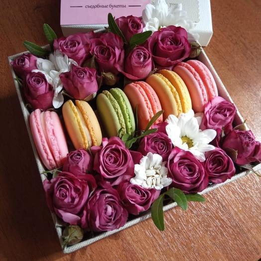 Коробочка «радость»: букеты цветов на заказ Flowwow