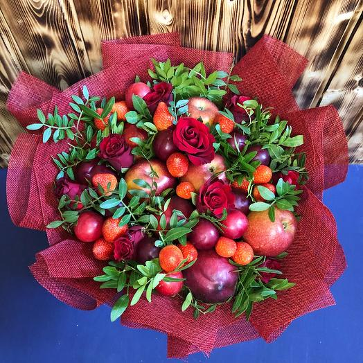 Фруктовый букет: букеты цветов на заказ Flowwow