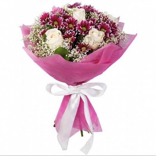 Букет на 1 сентября ,,Для милой учительницы,,👩🏫: букеты цветов на заказ Flowwow