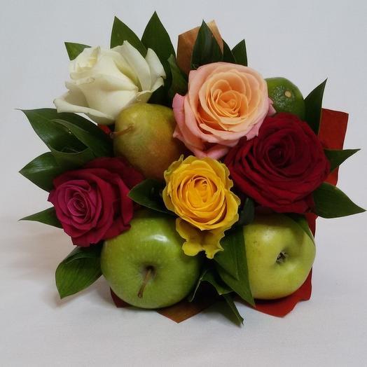 Фруктовый букетик: букеты цветов на заказ Flowwow