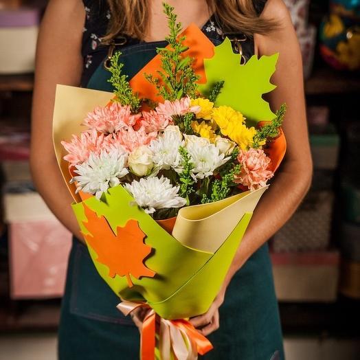 Осенний лист: букеты цветов на заказ Flowwow