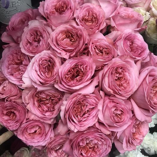 Пионовидные розы 💕: букеты цветов на заказ Flowwow