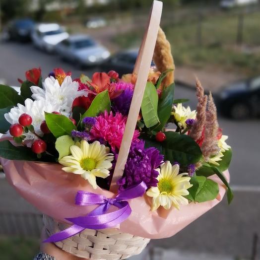 Осеннее чудо: букеты цветов на заказ Flowwow