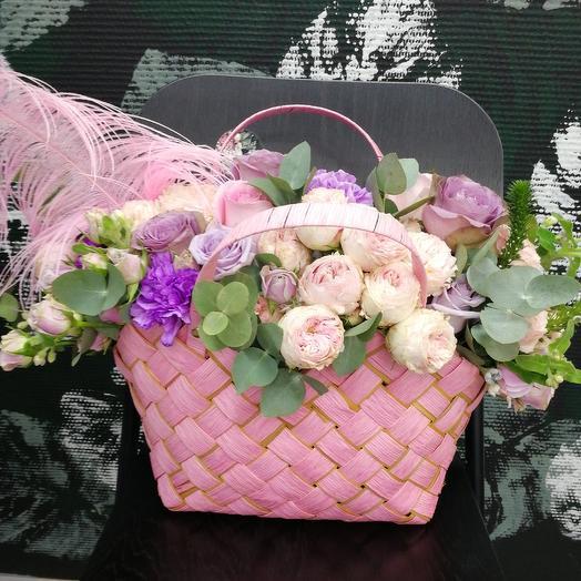 Сумка цветная: букеты цветов на заказ Flowwow