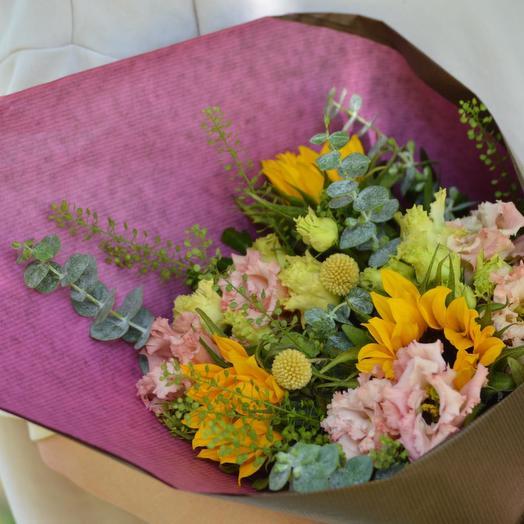 """Букет цветов """"Летний дар"""": букеты цветов на заказ Flowwow"""