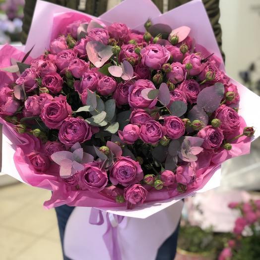 Мисти баблс 17: букеты цветов на заказ Flowwow