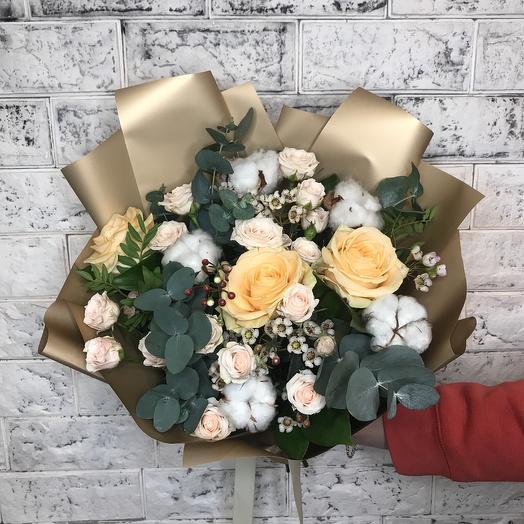 Букет Мидас: букеты цветов на заказ Flowwow