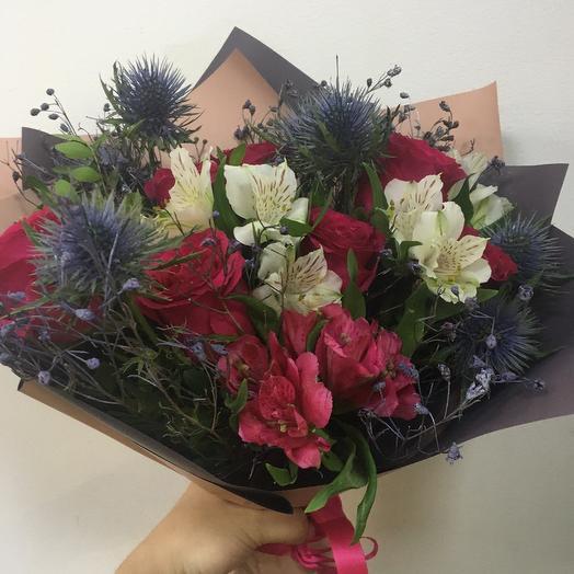 Букет « Для неё»: букеты цветов на заказ Flowwow