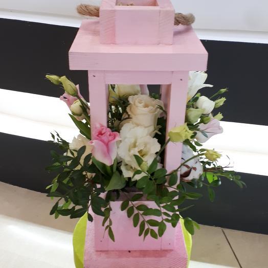 Фонарик нежности: букеты цветов на заказ Flowwow