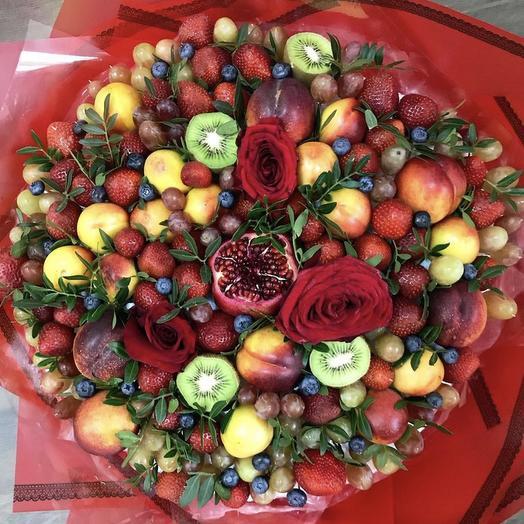 Фруктовый букет «Вена»: букеты цветов на заказ Flowwow