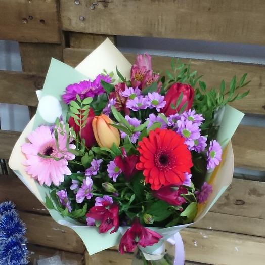 Spring bouquet: flowers to order Flowwow