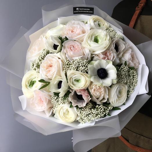 Зимний день: букеты цветов на заказ Flowwow