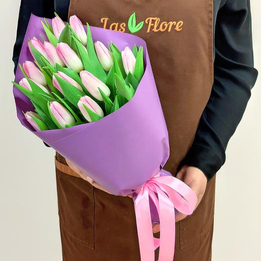 "Bouquet ""Rosaline"" (15 tulips)"