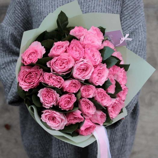 Роскошная пионовидная роза: букеты цветов на заказ Flowwow