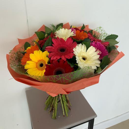 Букет Гербера: букеты цветов на заказ Flowwow