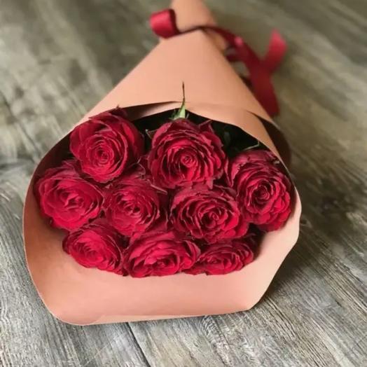 Мини букетик из роз