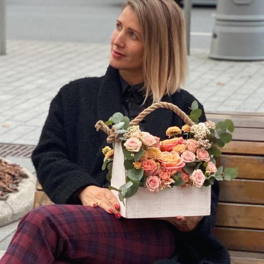 Цветы в ящике