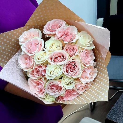 Нежность 21 роза