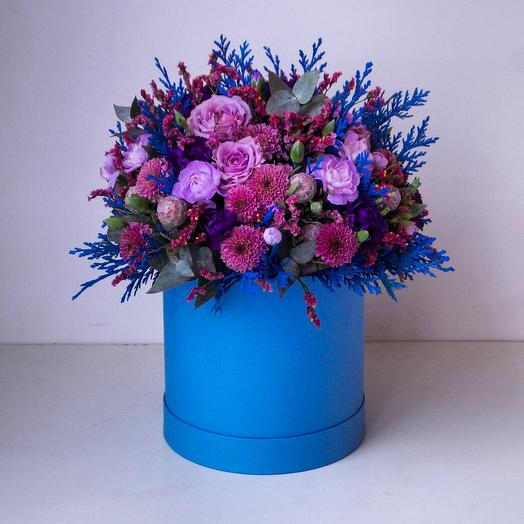 Цветы в коробке Дыхание зимы