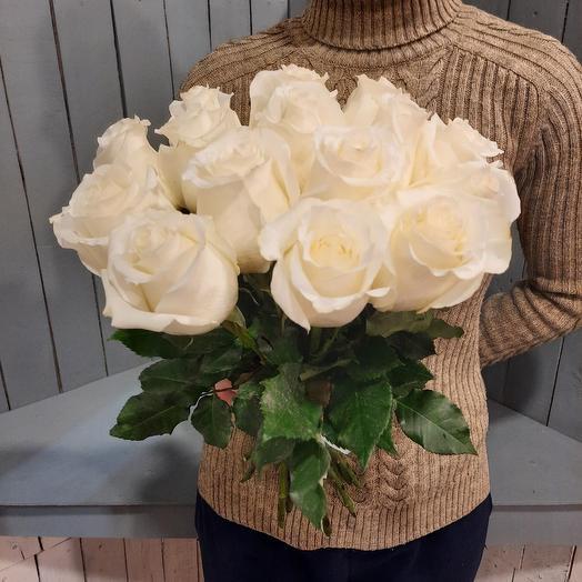 15 роз  эквадор 40см