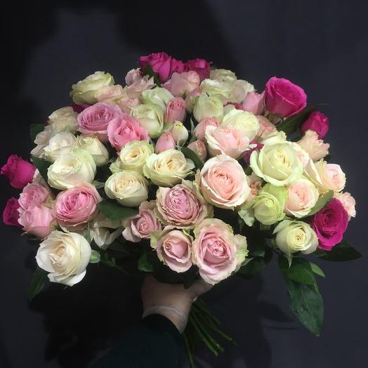 Элегантная кустовая Роза для истиной Леди