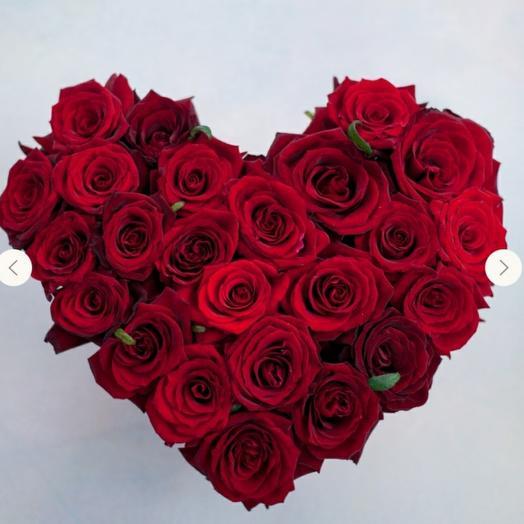 """Коробка""""Красное сердце"""""""