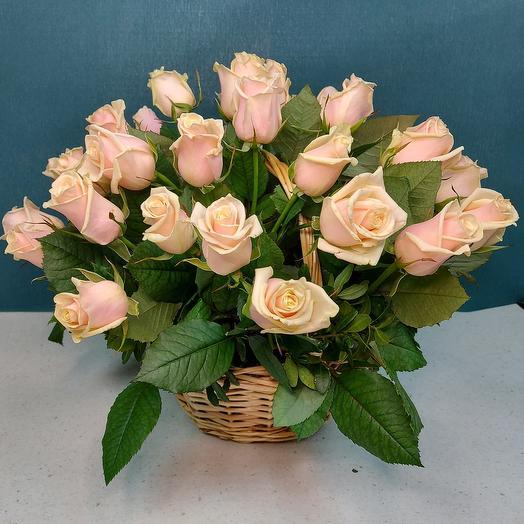 Корзина роз ☆ 3