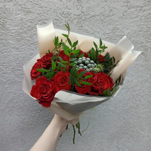 Букет с розами Эль Торо