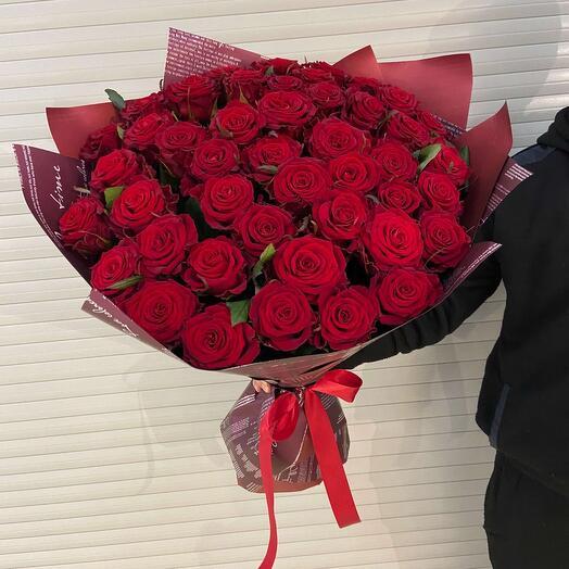 Букет из роз Ред Найоми
