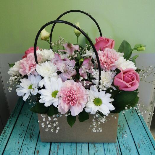 Плайм пакет с цветами