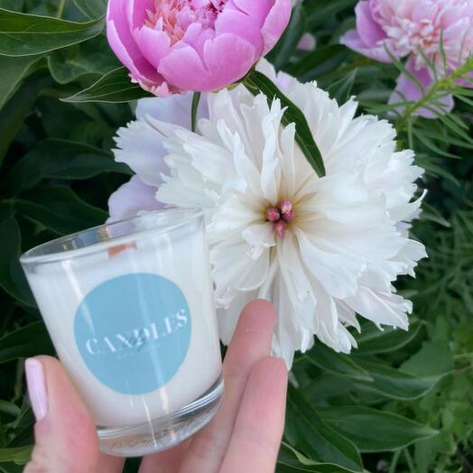 Свеча с ароматом «Цветочная лавка»