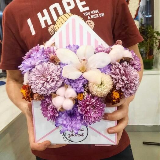 Корзина с цветами Flowers 🌺