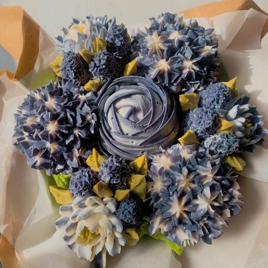 BOUQUET OF FLOWER CUPCAKES - CHEESECAKES (men's)
