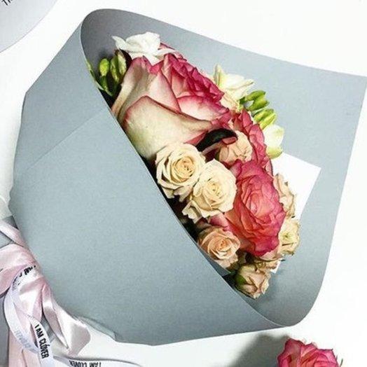 Ласковое изумление: букеты цветов на заказ Flowwow