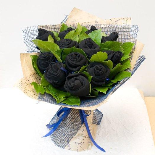 Букет из носков Букет мужчине: букеты цветов на заказ Flowwow